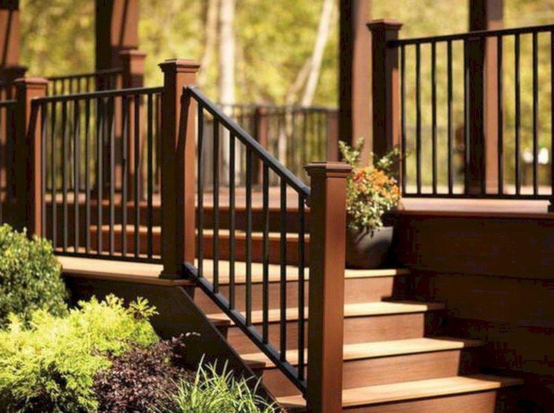 Best 45 Rustic Farmhouse Porch Steps Decor Ideas Outdoor 400 x 300