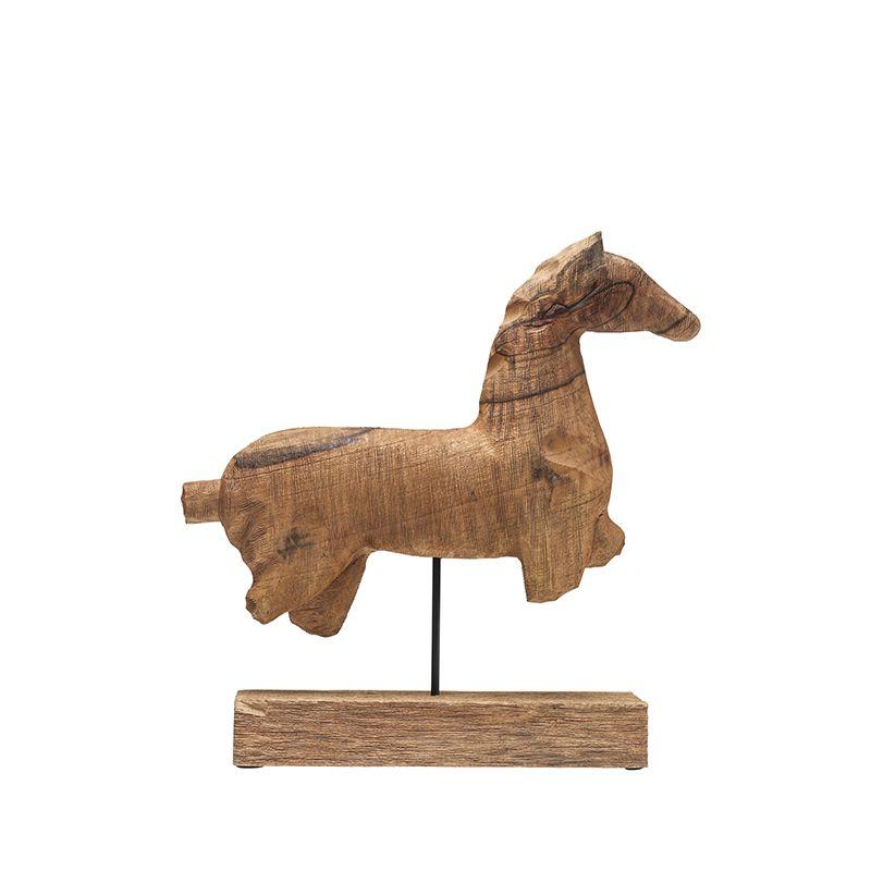 4f5549b6 Dekor Trähäst - 50 cm | Dekor och Skulpturer | Sculpture, Lion ...