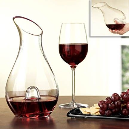 """Thumb Decanter"" -- Announcing the Fresh Finds ""Repin It To Win It"" Giveaway! Repin the items that you love from our contest board by May 20th for a chance to win one of them. View the board description for full details!"