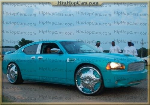 Ghetto Chrysler 300 >> Sweet baby blue dodge charger - HipHopCars.com - custom pimped out hot car photos, forums ...