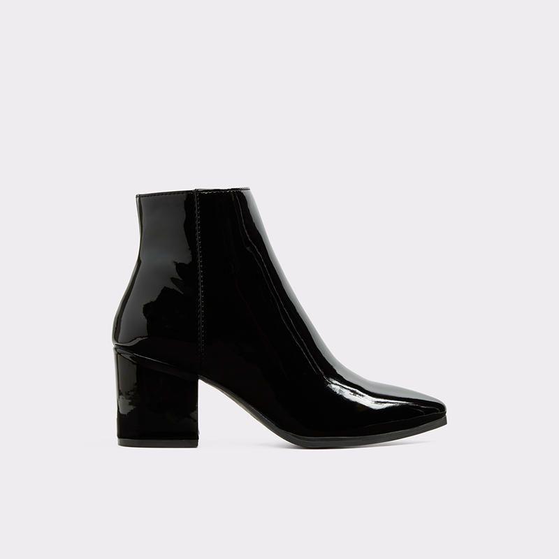 d00aca2af8f Fralissi Black Patent Women's Ankle boots | Aldoshoes.com US | Sweet ...