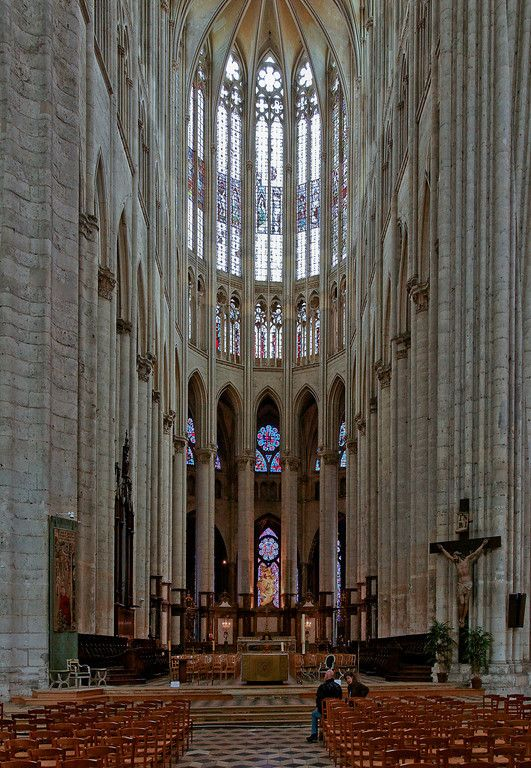 Beauvais Cathedral Choir Gothic Cathedrals Church Architecture Gothic Church