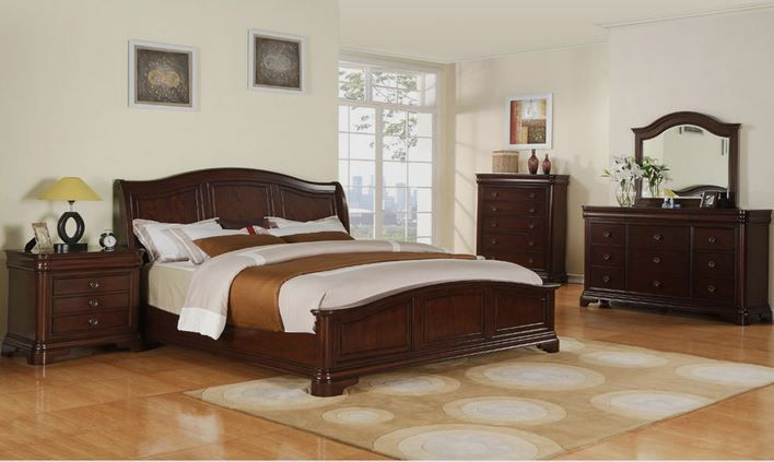 Camas king size cl sica cuarto en 2019 bedroom - Modelo de camas ...
