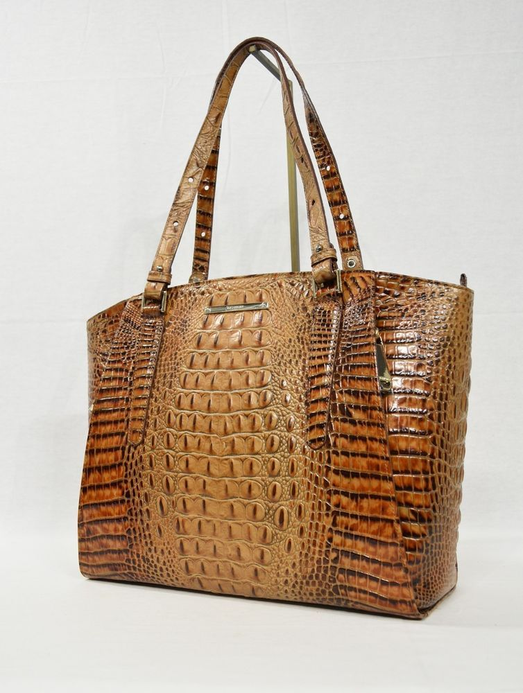 877b07b96 Brahmin Paris Large Leather Business Tote/Work Bag in Toasted Almond  Melbourne #Brahmin #WorkToteBusinessBag
