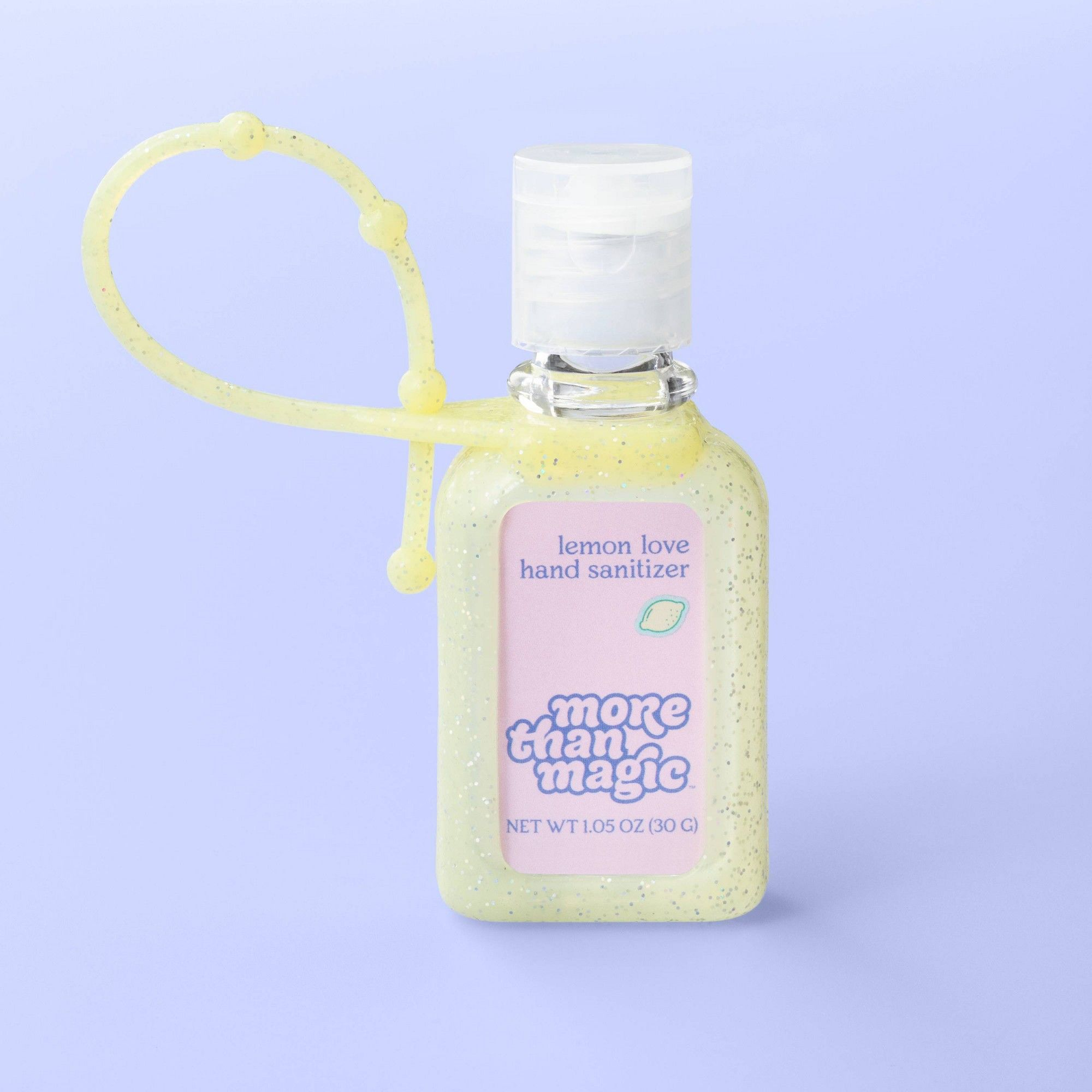 Hand Sanitizer Carrier 1 05oz More Than Magic Lemon Love