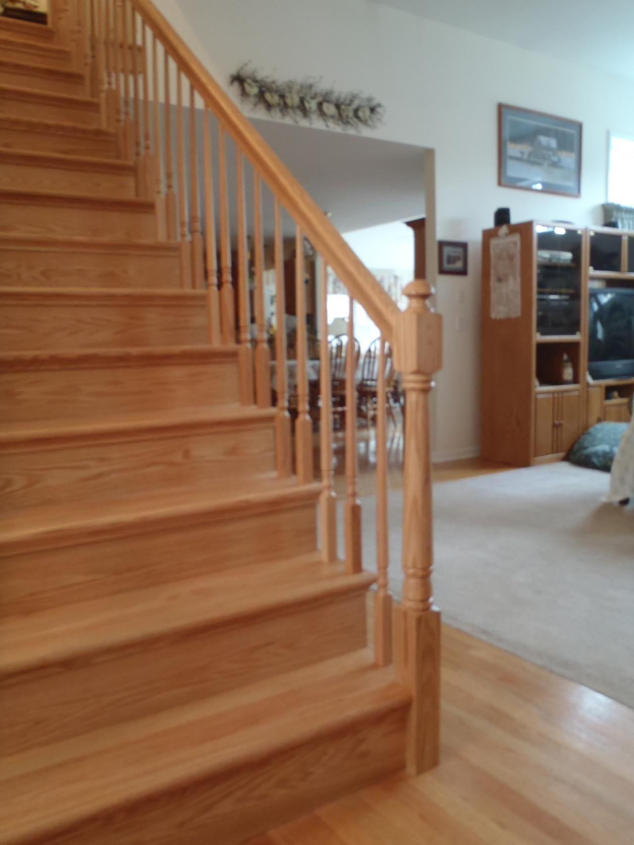 Best After Solid Oak Treads And Riaers Remodel Iron 400 x 300
