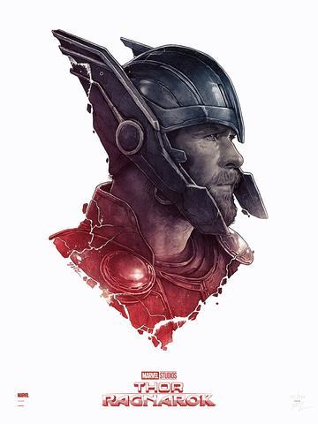Thor Ragnarok Marvel Movie Poster Thor Versus Regular Edition By Gabz Marvel Movie Posters Grey Matter Art Marvel Superheroes Art