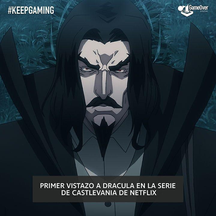 Primer vistazo a Dracula en la nueva serie de #Castlevania de ...