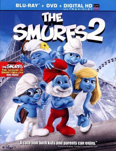 The Smurfs 2 2 Discs Includes Digital Copy Blu Ray Dvd 2013 Best Buy The Smurfs 2 Smurfs Kids Movies