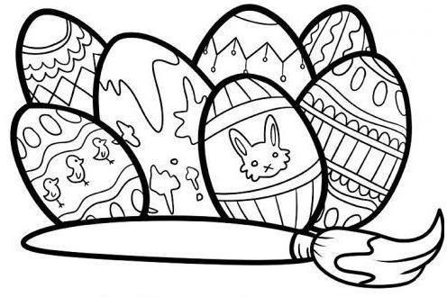 40 Malvorlagen Ostern Malvorlagen Ostern Osterhase Schablone Malvorlagen Gratis