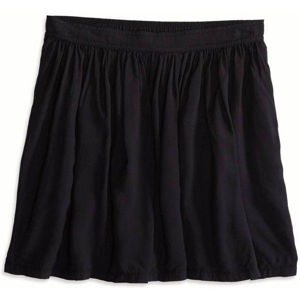 American Eagle Soft Circle Skirt, Women\'s, True Black (27 CAD ...