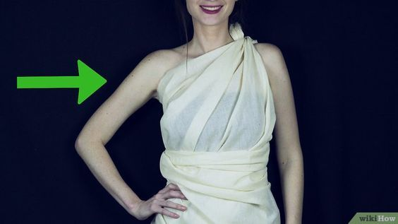 3 Ways to Make a Toga out of a Bedsheet - wikiHow | costumes ...