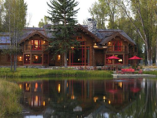 Stunning Ranch House In Jackson, Wyoming. I Want One! Http