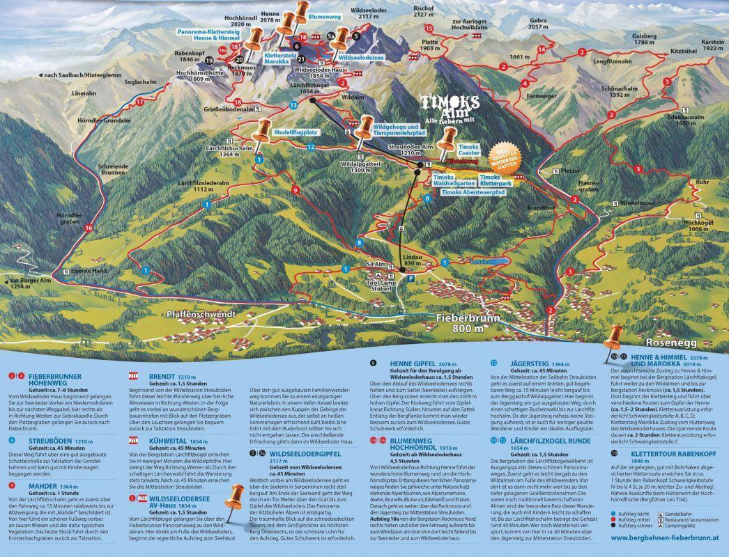 Larchfilzkogel Runde Wandern Tirol Osterreich Urlaub Tirol