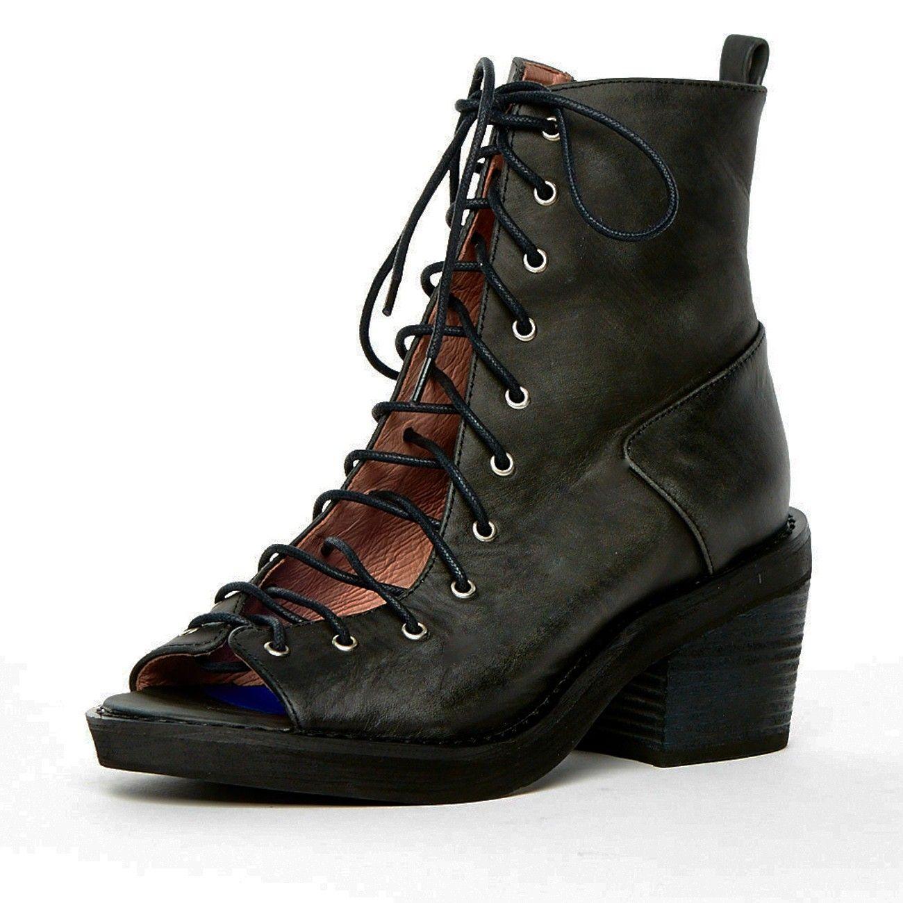 Meriwidow Boots, Leather heels, Shoes