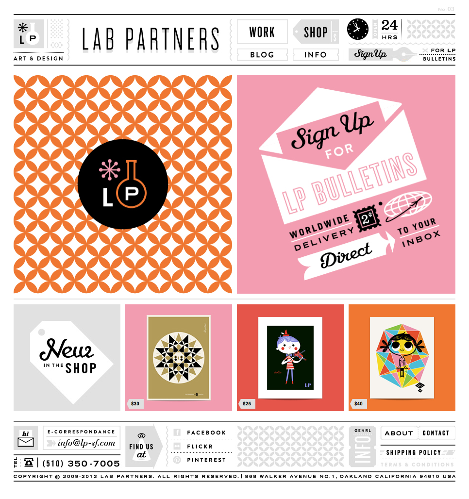 Love Lab Partners website design!