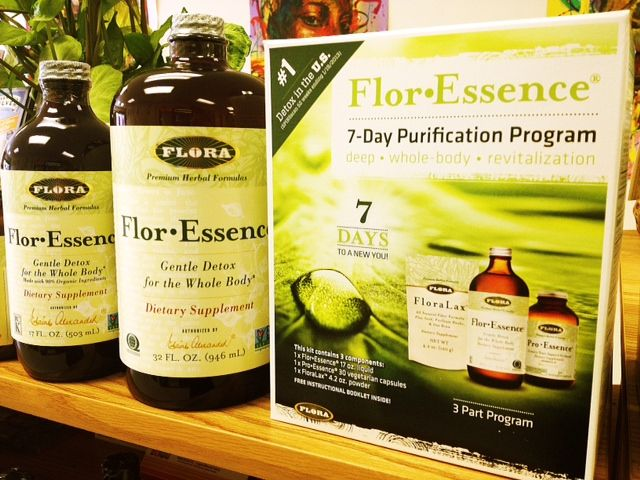 Feeling the need for a detox? Try Flor-Essence! It supports the whole body in its natural elimination process.