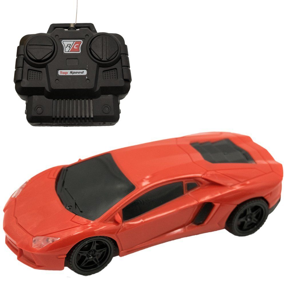 TukTek Kids First Red RC Sports Car Toy Remote Control 1 ...