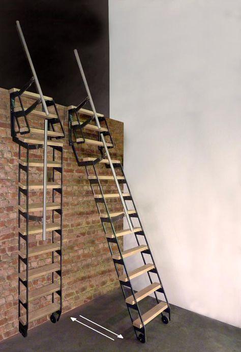 Folding Loft Ladder Ideas