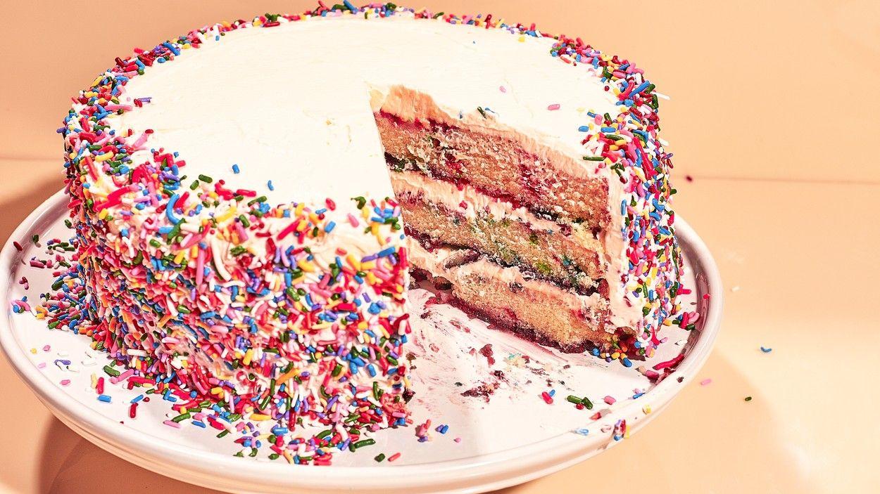 1 Cup 135 Grams All Purpose Flour 1 Cup 135 Grams Cake Flour Teaspoon Baking Powder Confetti Cake Recipes Cake Recipes Sweet Cakes