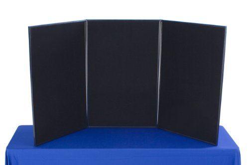 """Pacon 3766 48/"""" X 36/"""" Black Corrugated Presentation Board"""