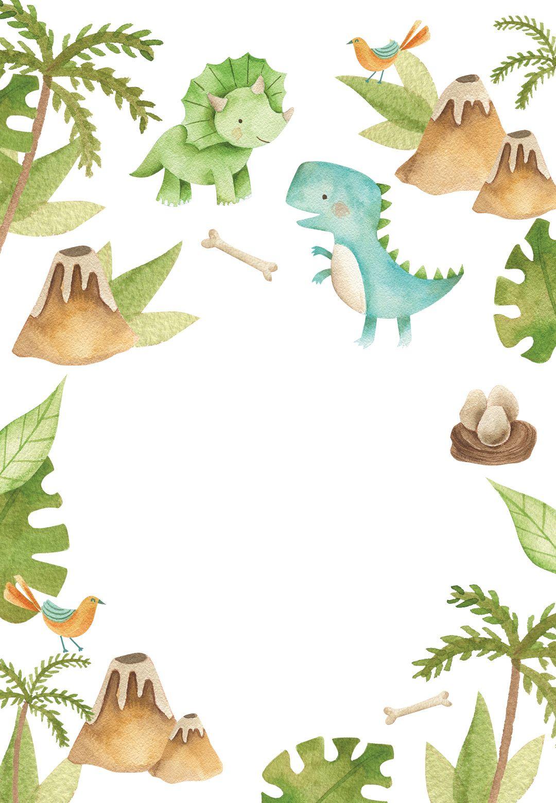 Dino Adventure Birthday Invitation Template Greetings Island Dinosaur Birthday Invitations Adventure Baby Shower Invitations Dinosaur Themed Birthday Party