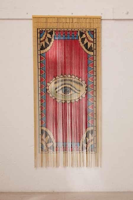 Eye Bamboo Beaded Curtain