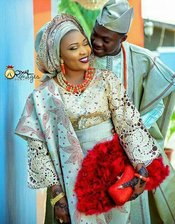 Wedding Outfits Attire Dresses African Dress Weddings Nigerian Bride Styles Ideas