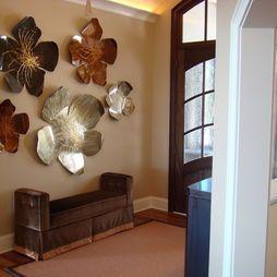 Giant Metal Flowers Wall Art Art Deco Interieurs Muurkunst Decoratie Muur Kunst Woonkamer