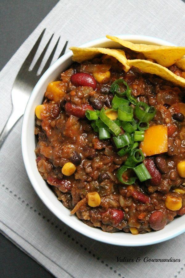 3 Bean Vegan Chili