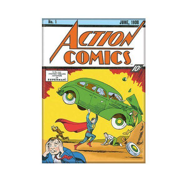 Superman Action Comics No 1 Magnet