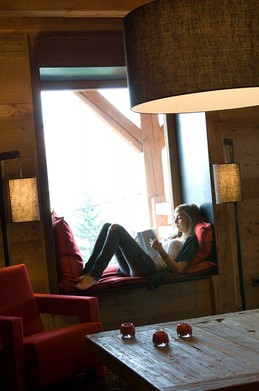 Entourage De Fenetre En Bois désign intérieur encadrement de fenêtre métal - chalet saint