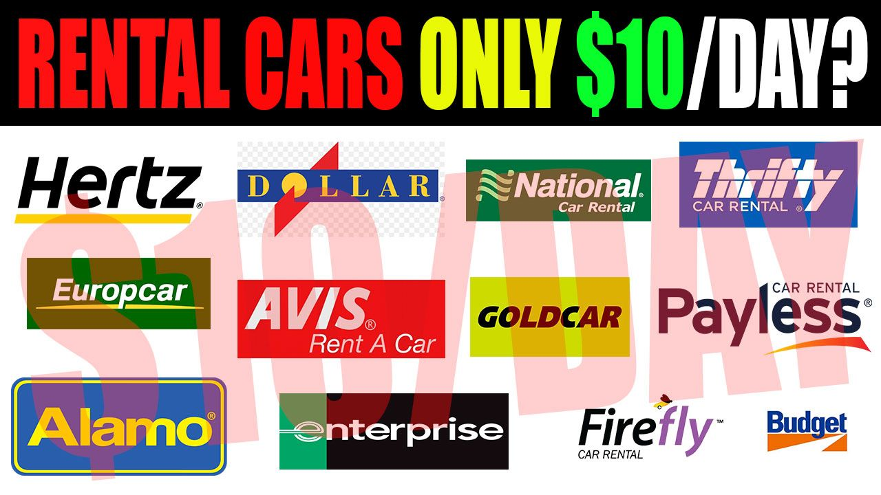 How To Rent a Car For Cheap Anywhere In The World! 10 Per