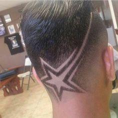 63285b40a @javi_barber Star Haircut, Fade Haircut, Hair Patterns, Barber Haircuts,  Cool Haircuts
