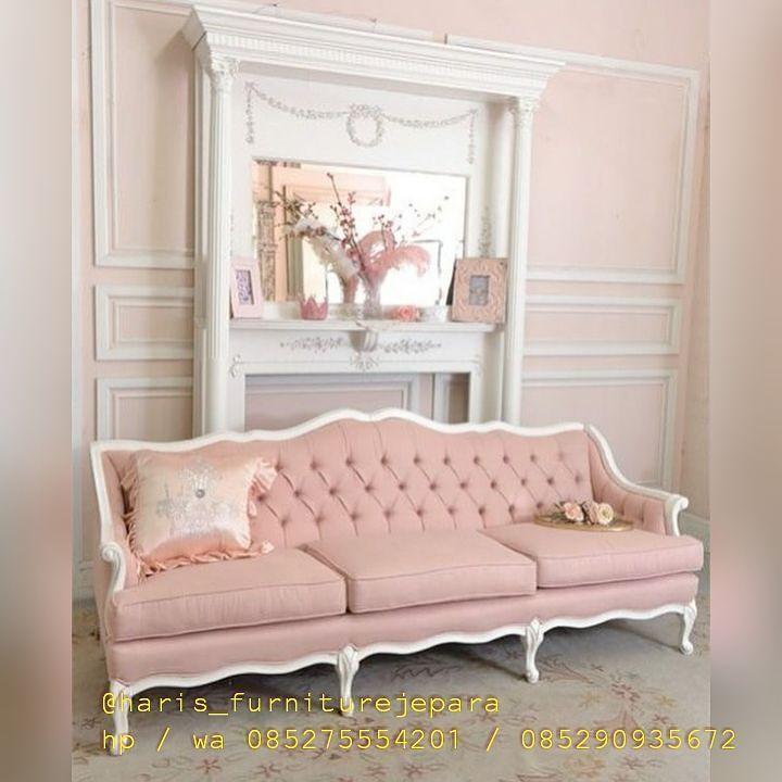 Delicieux Bismillah... Silahkan Order Sista.... Kursi Sofa Cantik Baby Pink