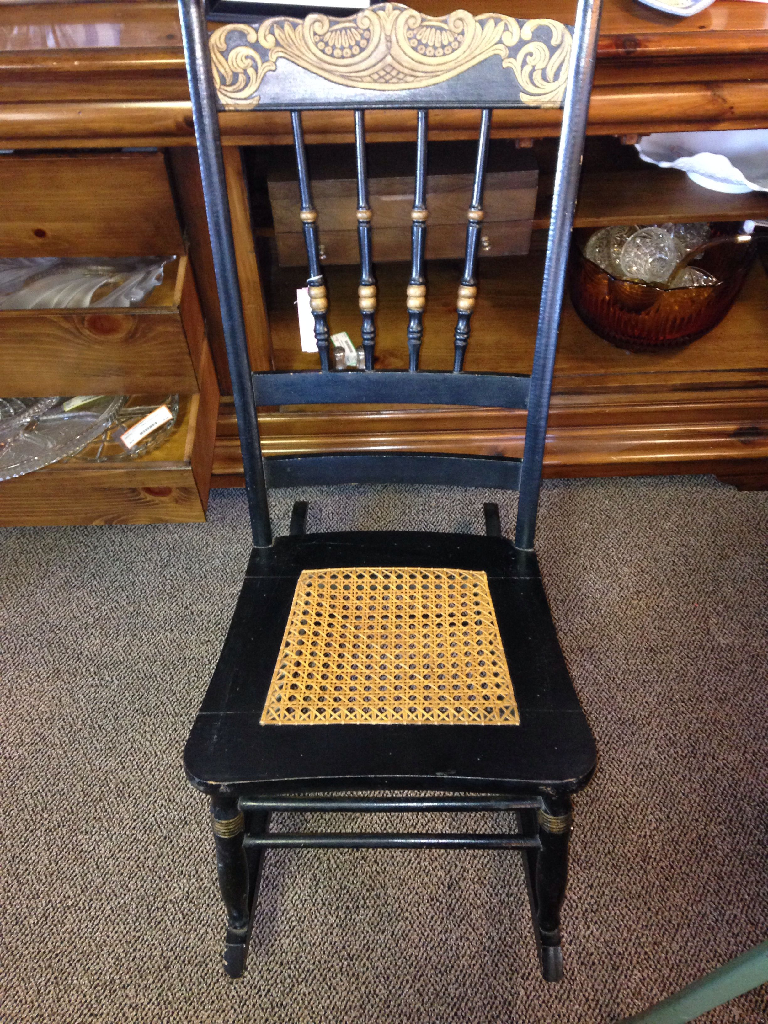Sweetest sewing chair/rocker. $26 | Stock | Pinterest
