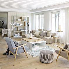 Une pièce à vivre style scandinave | design d\'intérieur ...