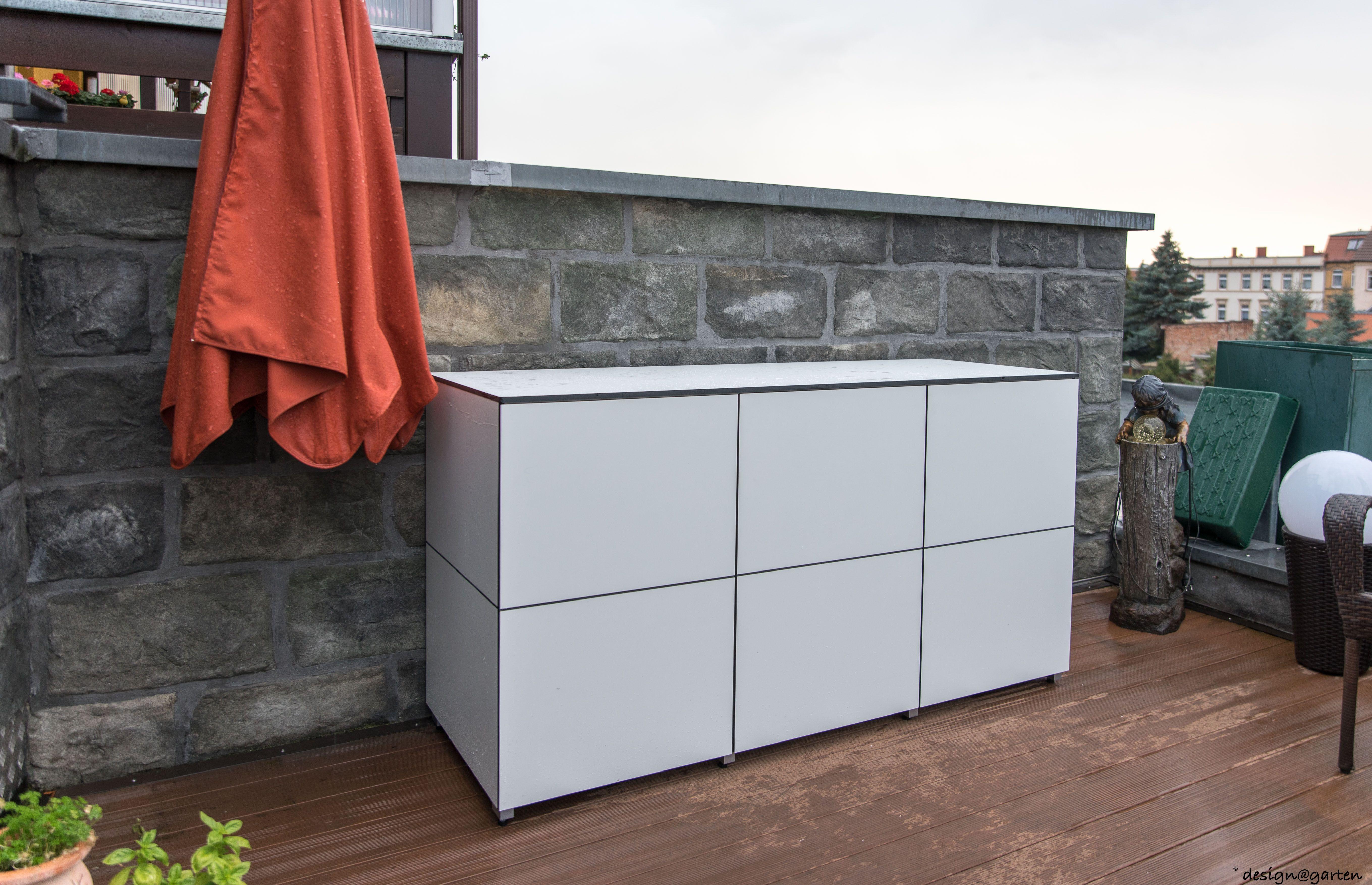 balkonschrank terrassenschrank sideboard win in k ln by design garten augsburg farbe. Black Bedroom Furniture Sets. Home Design Ideas