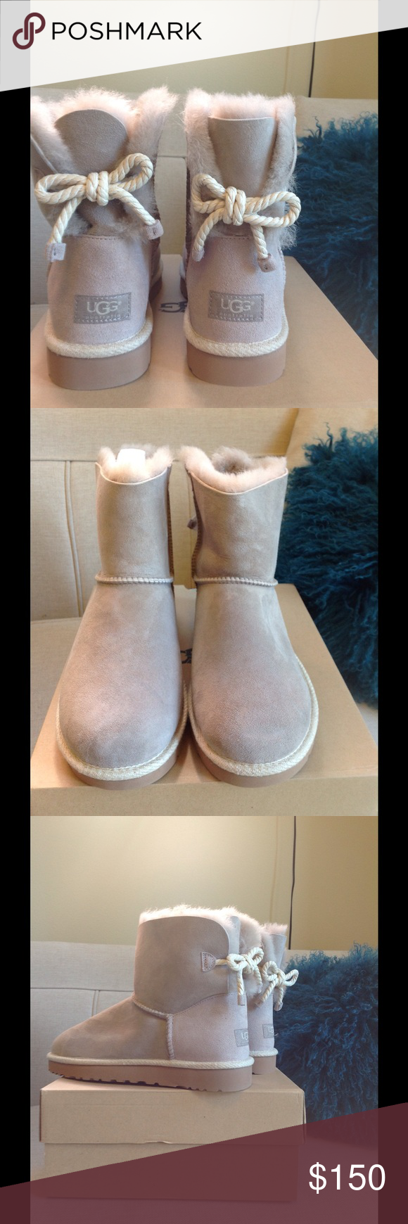 ddfb649c09d Ugg Selene Boot Color is Oyster, new in box. Adorable style. No ...