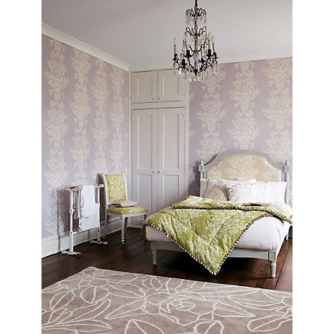 Buy Sanderson Home Freya Paste the Wall Wallpaper Online at johnlewis.com