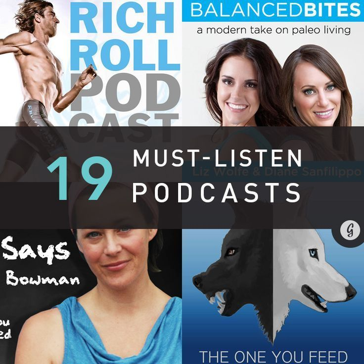 The 19 Best Health and Fitness Podcasts of All Time (So Far) -  New to the podcast party? Get ready...