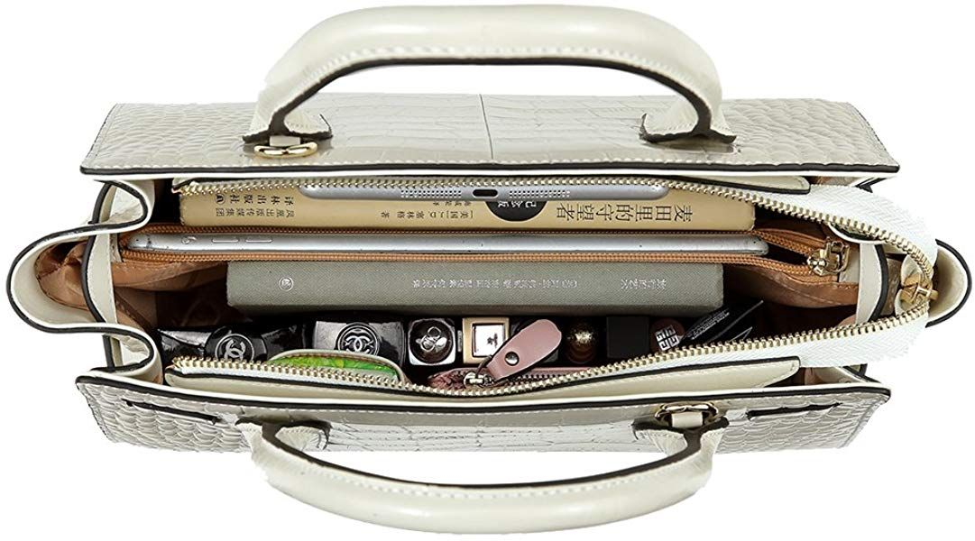 ab4289b0675 Women Genuine Leather Handbags Top-handle Bags Luxury Designer ...
