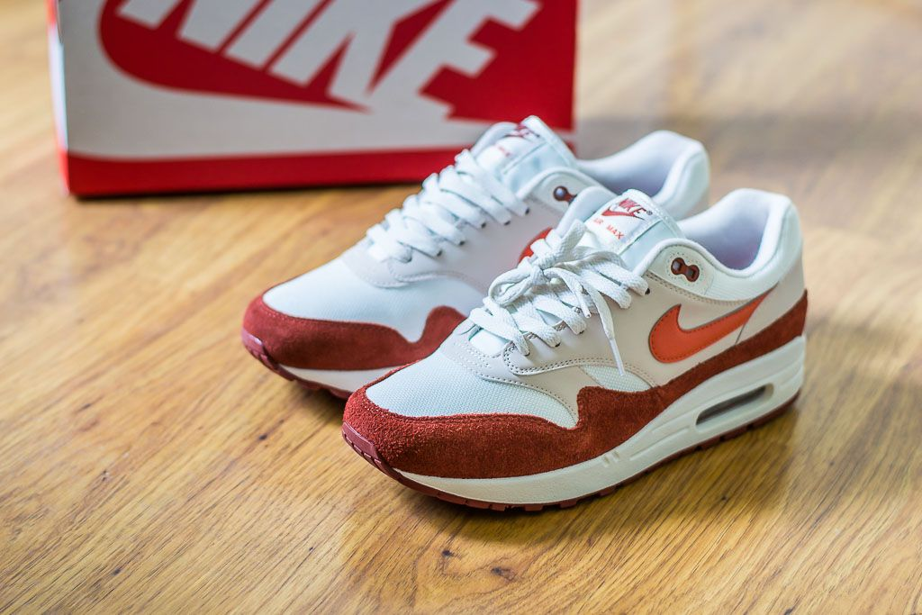 b6e576331800cd Check out this pickup video of the Nike Air Max 1 Mars Stone. Find out  where you can still buy a pair of these Nike Air Max 1s online!