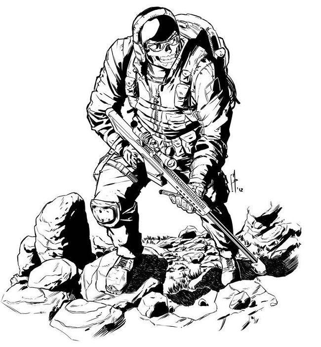 Call Of Duty Ausmalbilder