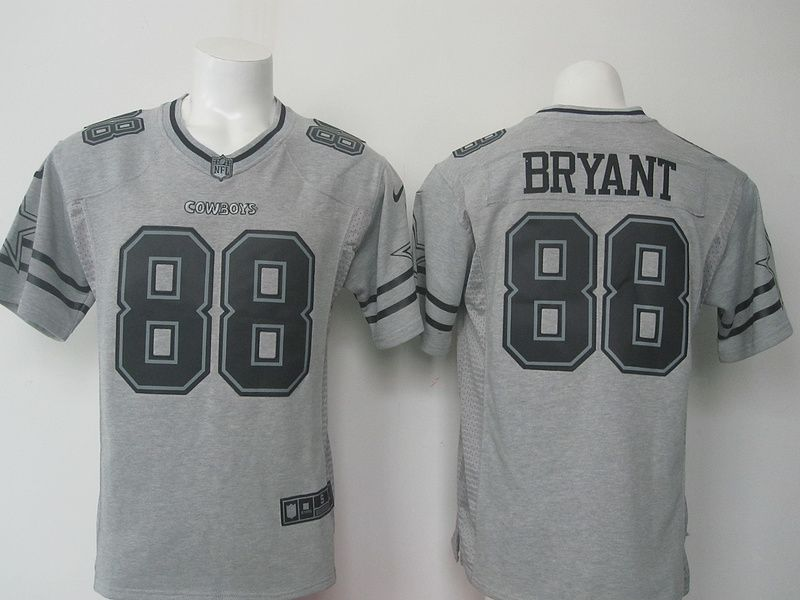Dallas Cowboys Dez Bryant Gray Gridiron Gray Limited Jersey  9d6287851