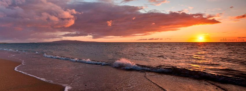 Beach Sunset Facebook Covers | cover photos | Twitter cover