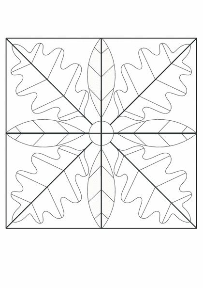 Mozaik Calismasi Mozaik Boyama Sayfalari Mandala Boyama Sayfalari