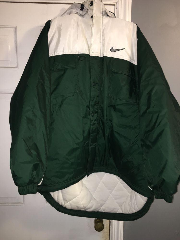 Vintage Nike Oversized Winter Jacket Ebay