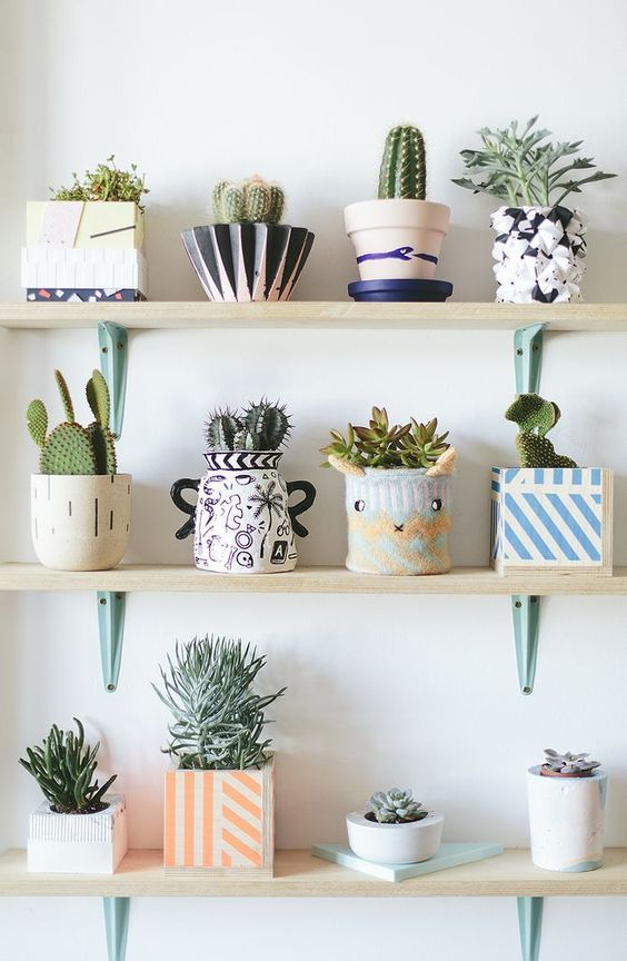 Modern Indoor Planters | Home Sweet Home | Home Decor, DIY