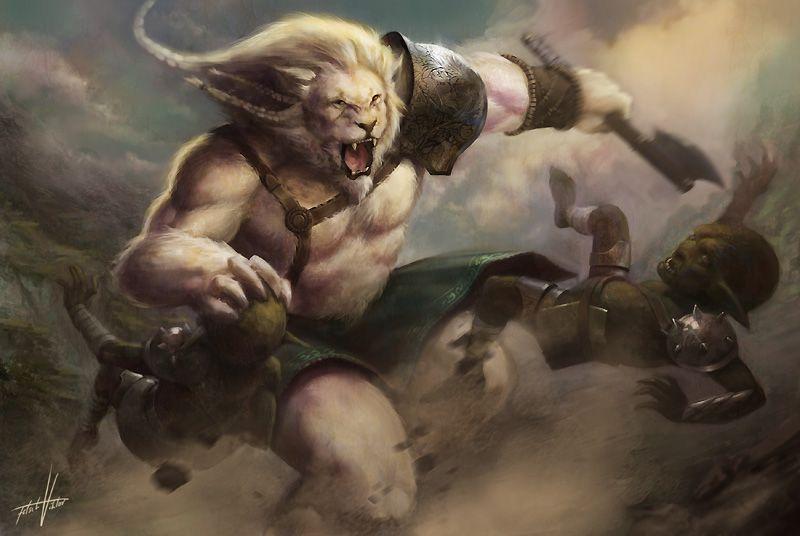 Deviantart Lion Warrior: Lion By Fetsch.deviantart.com On @deviantART